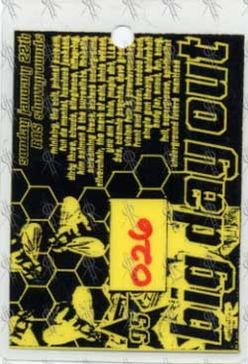 BIG DAY OUT - 1995 Gold Coast Show Backstage Pass - 1