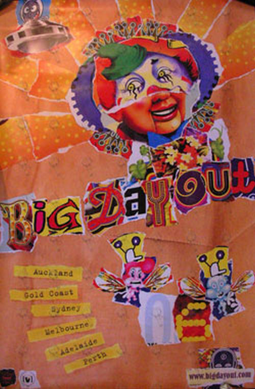 BIG DAY OUT - 2006 Tour Poster - 1