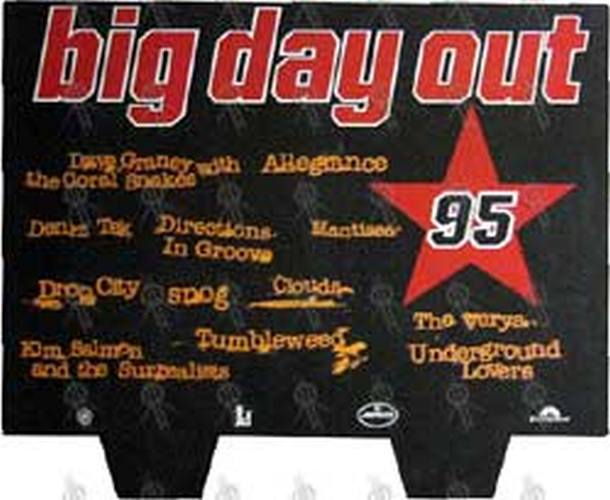 BIG DAY OUT - 'Big Day Out 95' Dumpbin Promo Display - 1
