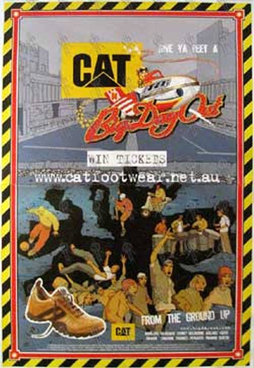 BIG DAY OUT - 'Cat' Footwear Promotional Poster - 1