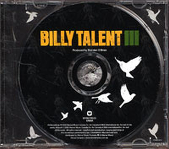 Billy Talent Billy Talent Iii Album Cd Rare Records