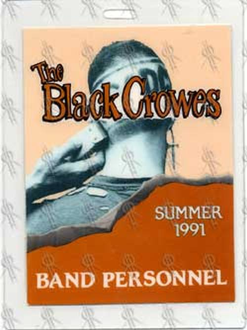 BLACK CROWES-- THE - AC/DC Band Personnel Summer 1991 Laminate - 1