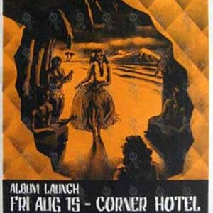 BLACKEYED SUSANS-- THE - 'Shangri-La' Album Launch Gig Poster - 'Corner Hotel