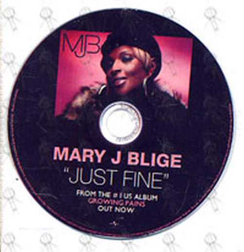 BLIGE-- MARY J - Just Fine - 1