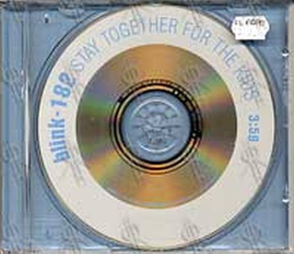 BLINK 182 - Stay Together For The Kids - 1