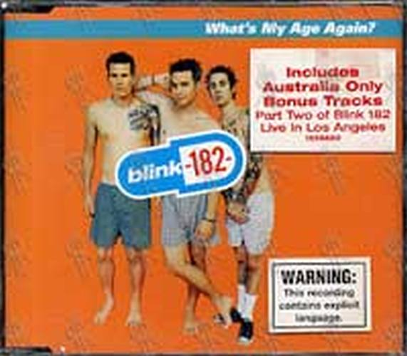 BLINK 182 - What's My Age Again? - 1