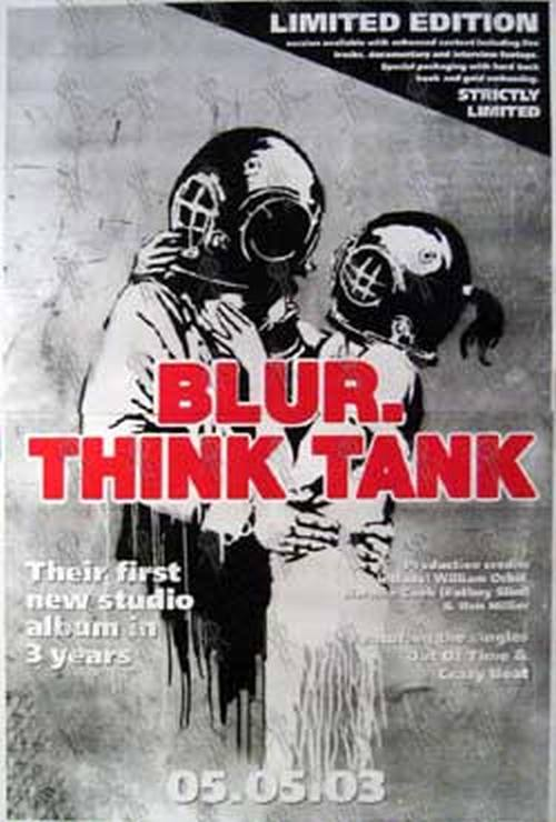 BLUR - 'Think Tank' Album Poster - 1