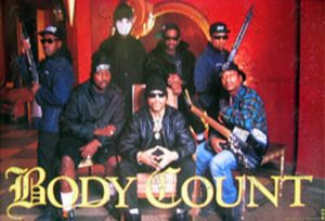 BODY COUNT - Band Photo Poster - 1