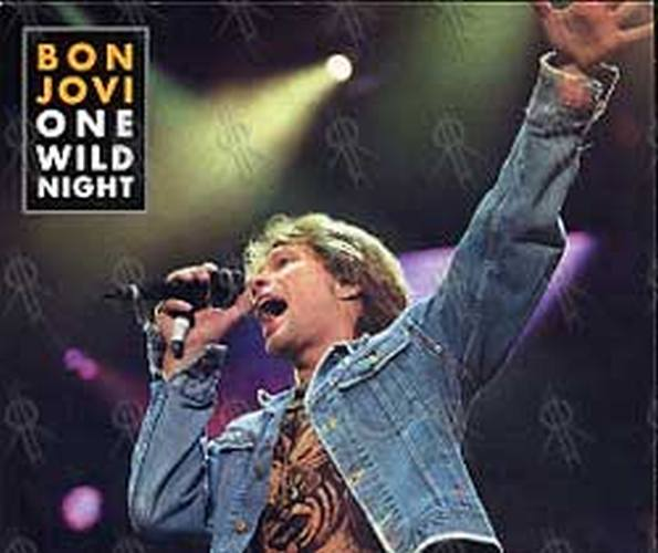 Bon Jovi One Wild Night Cd Single Ep Rare Records