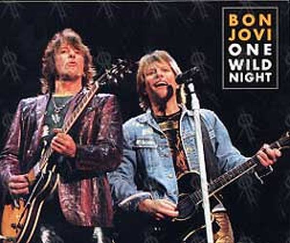Bon Jovi One Wild Night Tour