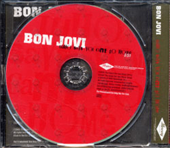 BON JOVI - Who Says You Can't Go Home - 2