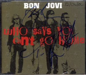 BON JOVI - Who Says You Can't Go Home - 1