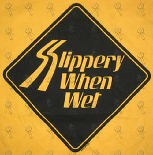 slippery when wet logo clipart library
