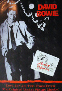 BOWIE-- DAVID - 'Absolute Beginners' Promo Poster - 1