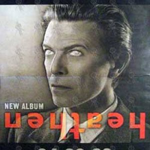 BOWIE-- DAVID - 'Heathen' Album Poster - 1
