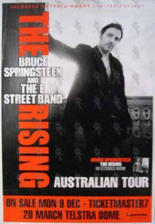 Bruce Springsteen And The E Street Band Telstra Dome