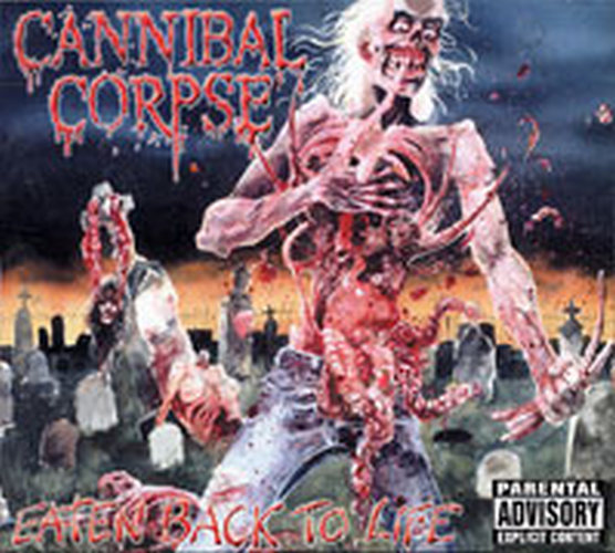 Cannibal Corpse Eaten Back To Life Album Cd Rare