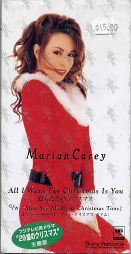 Mariah Carey Christmas Album Cover.All I Want For Christmas Is You