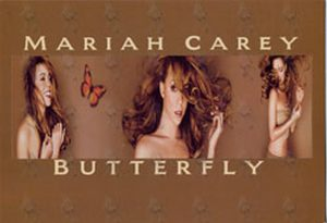 CAREY-- MARIAH - 'Butterfly' Promo Postcard - 1
