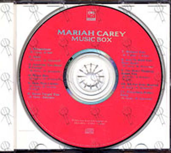 carey mariah music box album cd rare records. Black Bedroom Furniture Sets. Home Design Ideas