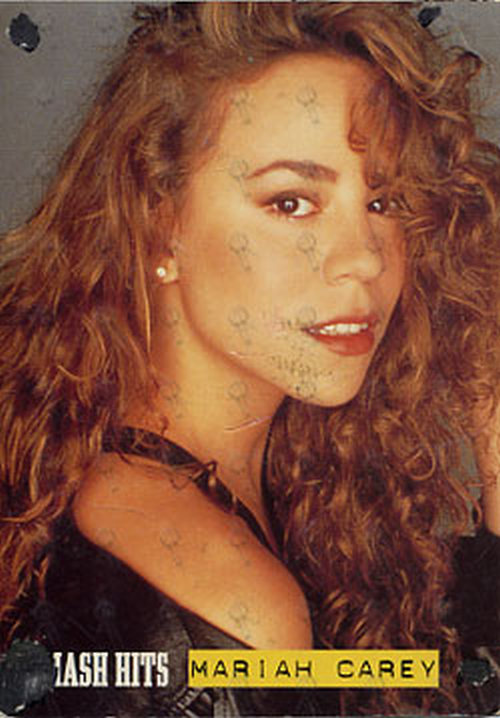 CAREY-- MARIAH - 'Smash Hits' Promo Postcard - 1
