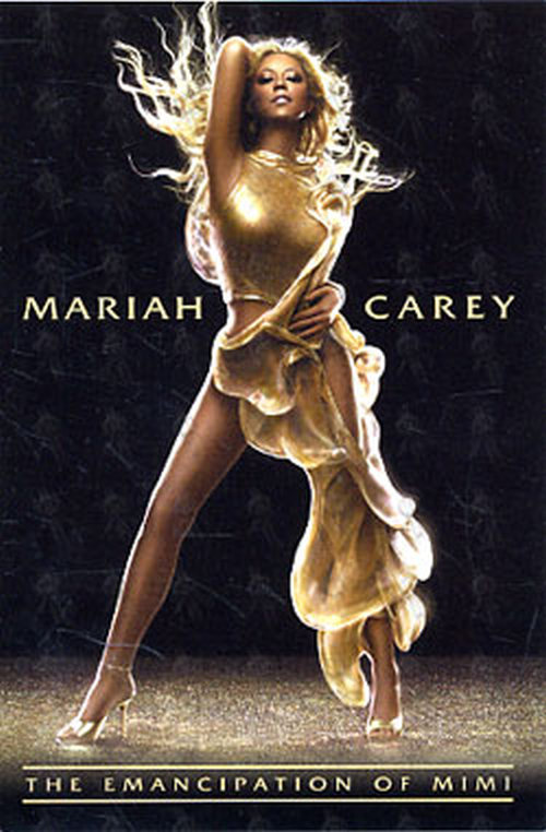 CAREY-- MARIAH - 'The Emancipation Of Mimi' Promo Postcard - 1