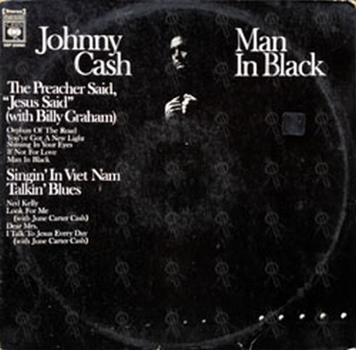 CASH-- JOHNNY - Man In Black - 1