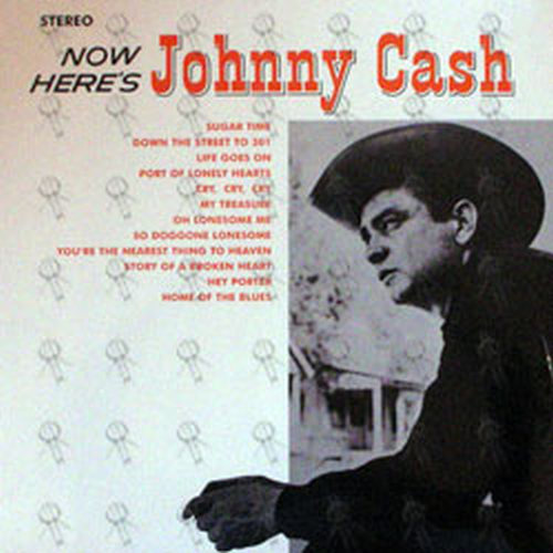 CASH-- JOHNNY - Now Here's Johnny Cash - 1