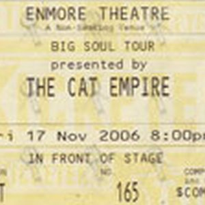 CAT EMPIRE-- THE - Enmore Theatre