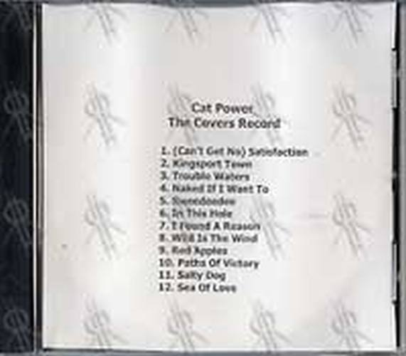 CAT POWER - The Covers Record - 1