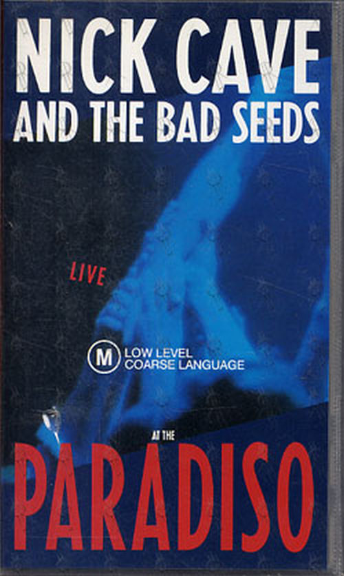 CAVE AND THE BAD SEEDS-- NICK - Live At The Paradiso - 1