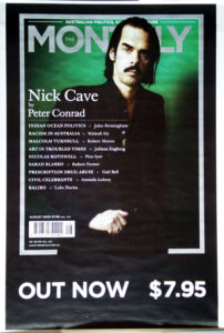 CAVE-- NICK - The Monthly Magazine Promotional Poster - 1