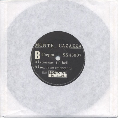 CAZAZZA-- MONTE - Stairway To Hell / Sex Is No Emergency - 1