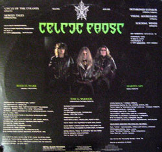 Celtic Frost Emperor S Return 12 Inch Lp Vinyl