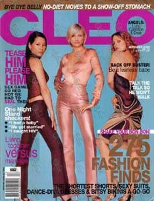 CHARLIES ANGELS - 'Cleo' - December 2000 - Lucy