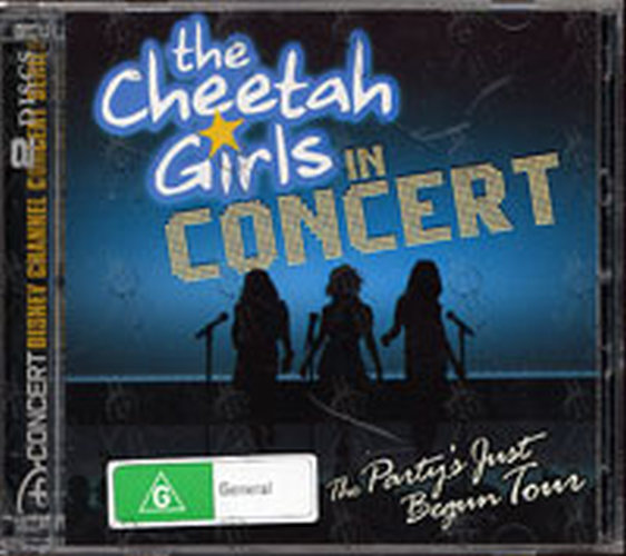 CHEETAH GIRLS-- THE - The Cheetah Girls In Concert: The Party's Just Begun Tour - 1