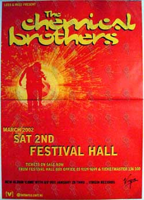 CHEMICAL BROTHERS-- THE - 'Festival Hall