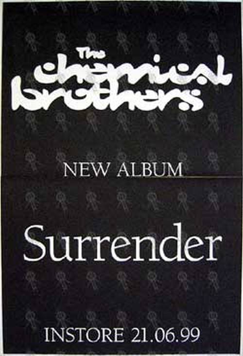 CHEMICAL BROTHERS-- THE - 'Surrender' Album Poster - 1
