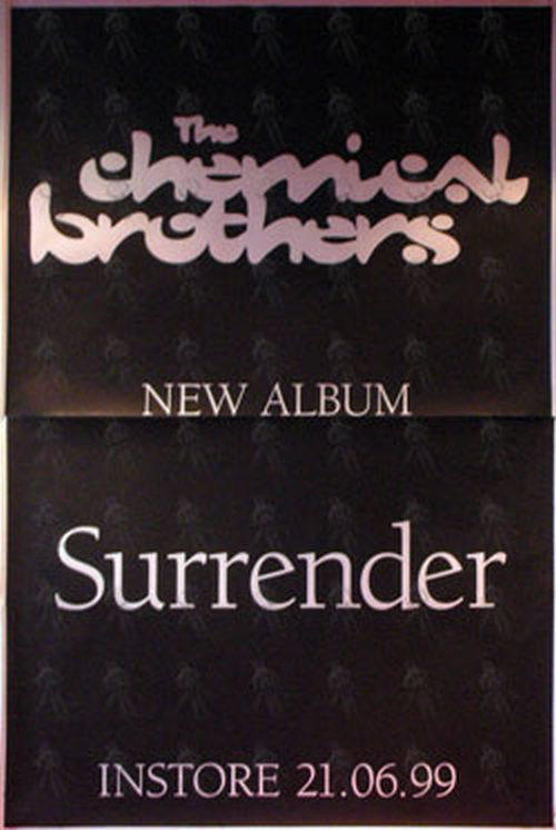 CHEMICAL BROTHERS-- THE - 'Surrender' Album Promo Poster - 1