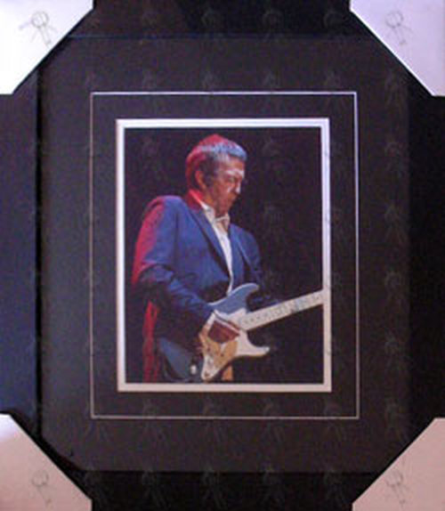 CLAPTON-- ERIC - Custom Framed 'Suit Image' 8 x 10 Photograph - 1