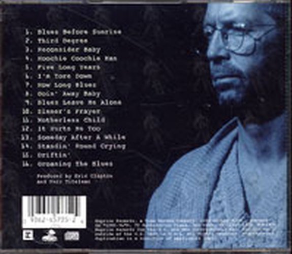 CLAPTON-- ERIC - From The Cradle - 2
