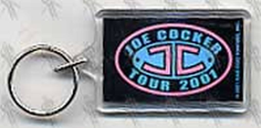 COCKER-- JOE - 2001 Tour Keyring - 1