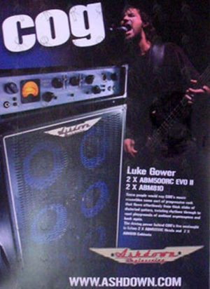 COG - Laminated 'Luke Gower'/'Ashdown' Promo Poster - 1