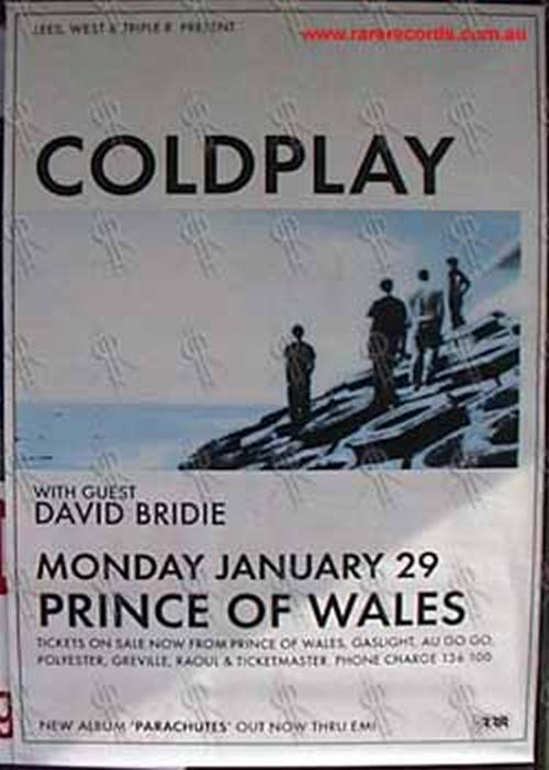 COLDPLAY - Prince Of Wales