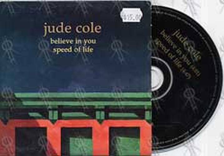 COLE-- JUDE - Believe In You / Speed Of Life - 1