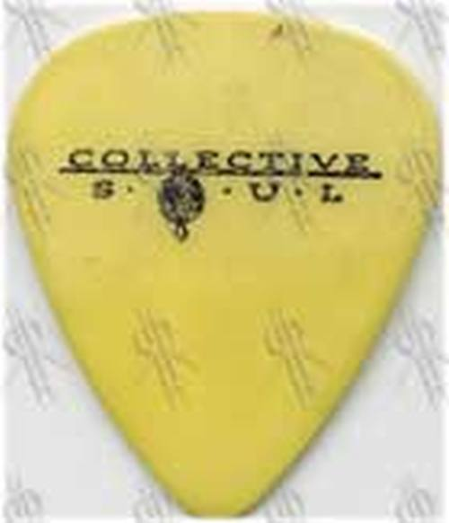 COLLECTIVE SOUL - Yellow Guitar Pick - 1