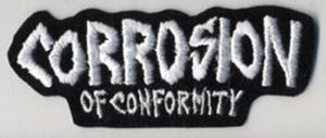 CORROSION OF CONFORMITY - Logo Embroidered Patch - 1