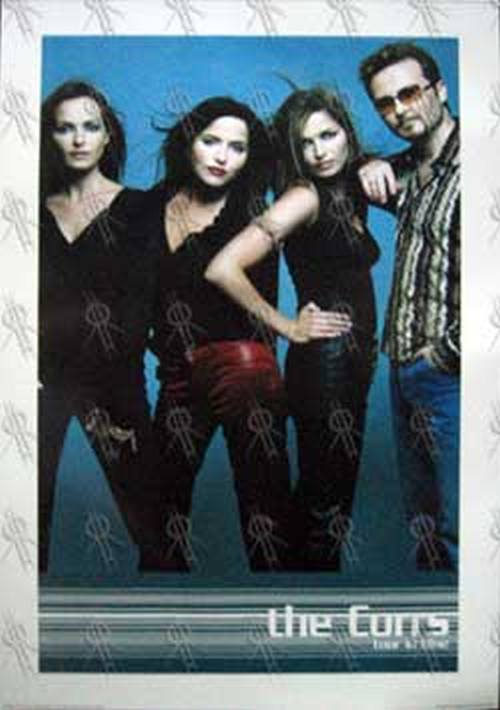 CORRS-- THE - 'Tour In Blue' Poster - 1