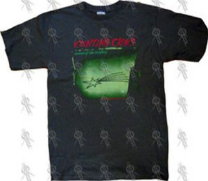 COUNTING CROWS - Green 'Recovering The Satellites' T-Shirt - 1