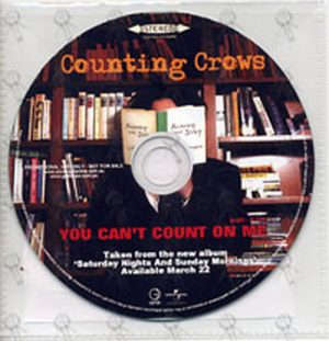 Counting Crows - You Cant Count On Me (Chords)